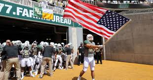 American Flag Bed In A Bag Kyle Boyd Goes From Marine Corps To Baylor Walk On Fullback