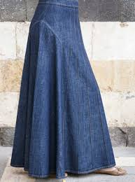 denim skirt denim maxi skirt