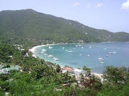 Cane Garden Bay Cottages Tortola - early morning scenery from the balcony picture of agape cottages