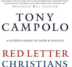 the truth about tony campolo and red letter christians apprising