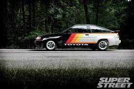 toyota arabalar 1986 toyota corolla gt s ae86 driving on lsd super street