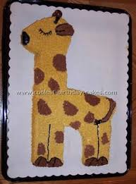 giraffe cakes 1st birthday google search cakes pinterest
