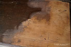 Rough Wooden Table Texture How To Refinish A Table Top Or Dresser Part 1 Lost U0026 Found