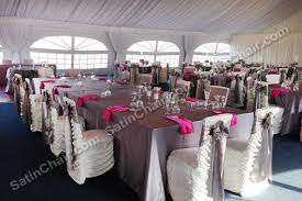 Silver Chair Covers Satin Chair Covers Rental Chicago And Suburbs On Onewed