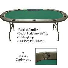 poker table with folding legs 96 folding leg poker table dealer tray built in cup holders green