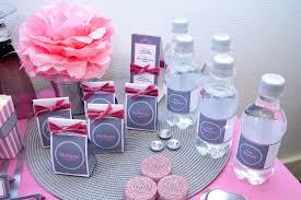 deco table rose et gris thème girly archives le candy bar