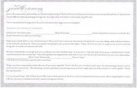 Examples Of Wedding Ceremony Programs 7 Best Images Of Sand Ceremony Program Wording Wedding Unity