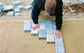 Installing Patio Pavers On Sand How To Install Pavers This House