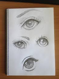 sketching eyes by lazytigerart on deviantart