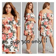 forever 18 online shop forever 21 inspired 3d floral shoulder plus size dress