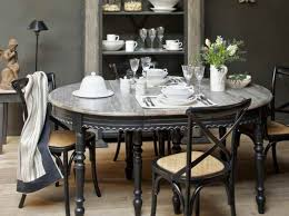 dinning round dining table set dark wood dining table wooden