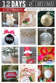 12 days of christmas holiday projects inspired by the song