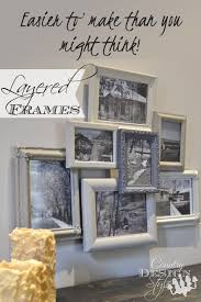 Design Styles by Layered Frames Farmhouse Style Gallery Wall And Display