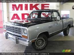 1985 dodge ram truck silver metallic 1985 dodge ram truck 150 royal se