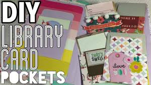 library cards and pockets easy diy library card pockets diy embellishments i m a cool