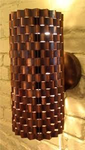 Copper Walls Copper Panel Wall Light Jpg Point Of Interest Pinterest