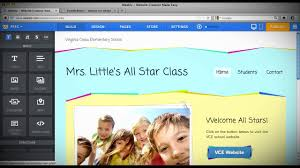 how to create a teacher website using weebly youtube