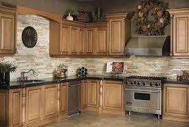 kitchen fancy tumbled stone kitchen backsplash rock brown lowes