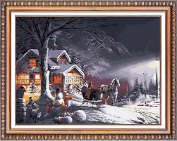 christmas oil paintings christmas oil paintings suppliers and