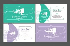 business card template beauty business card templates free