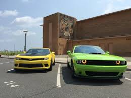 whats better a camaro or challenger 2015 dodge challenger pack vs 2015 chevrolet camaro ss ny