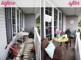 iheart organizing june monthly challenge a refreshing porch revamp