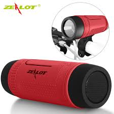 bluetooth speakers home theater zealot s1 bluetooth speaker outdoor bicycle portable subwoofer