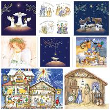 christmas cards religious theme christmas lights decoration
