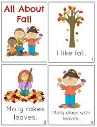 free printable fall minibook comprehension questions free