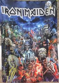 Iron Maiden Flag Iron Maiden Metal Hammer Magazine Flag Cloth Poster Tapestry