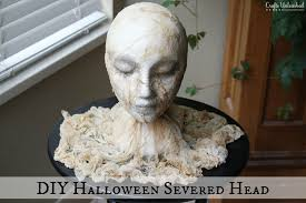 diy halloween super creepy severed head