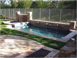backyards terrific custom in ground spa 10 backyard pool and