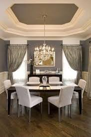 Dining Rooms With Wainscoting Pale Blue Dining Room Walls And Ceiling With White Wainscoting