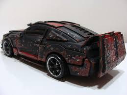 heavy scratch death race mustang custom alt batttle damaged