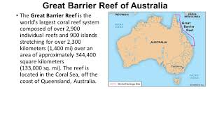Great Barrier Reef Map Pacific Realm Mental Map Information Ppt Download