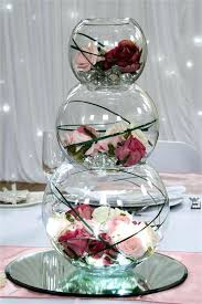 fish bowl centerpieces flowers for fish bowl centerpieces finishing touches wedding