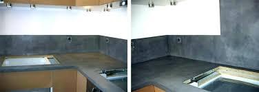 plan de travail cuisine beton beton cire pour credence cuisine educareindia info