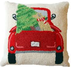Decorative Pillows At Christmas Tree Shop by Back Of The Truck Yellow Labrador Christmas Tree Pillow U2013 For The