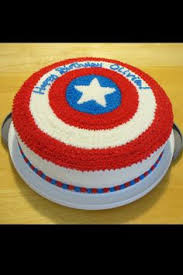 captain america cakes captain america s shield on cake central visit to grab an