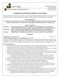 Training Resume Examples by Cindy Joice Resume For Director Of Training And Development