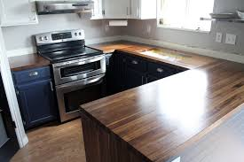 our walnut countertops sanded sealed and finished chris loves