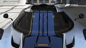 koenigsegg rain koenigsegg one 1 wiper position is wrong again forza 6