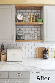 How To Update Kitchen Cabinets When You U0027re Sick Of Your Old Oak Kitchen Kitchen Update For Way