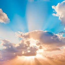 sky with clouds and sun rays sky with clouds and sun rays flickr