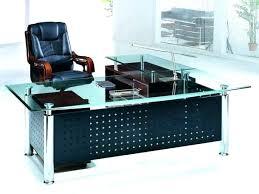 L Shaped Computer Desk Target L Shaped Glass Desk L Shaped Desk Glass Top Modern Design Glass