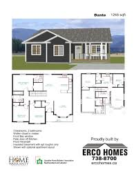 erco homes plans