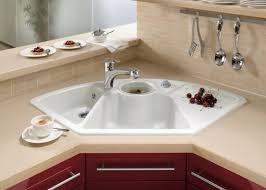 kitchen area ideas corner kitchen sink ideas for best cooking experience