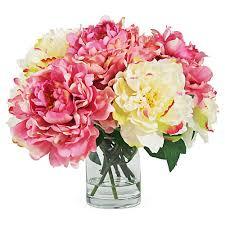 Faux Peonies Floral Decorative Accents Decor One Kings Lane