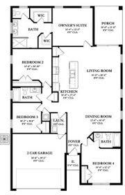 1 Story 4 Bedroom House Floor Plans Modern Design 4 Bedroom House Floor Plans Four Bedroom Home Plans