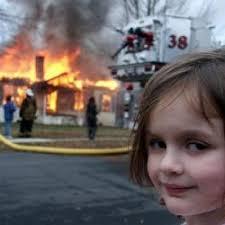 Meme Background Generator - disaster girl meme generator